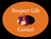 Respect Life Logo-Black Background