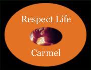 Respect Life Logo-Black Background