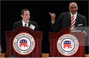 Michael Steele to Reince Priebus:  I won in 2010. You are blaming me for 2012?