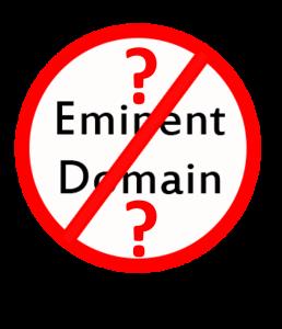 Eminent Domain Question