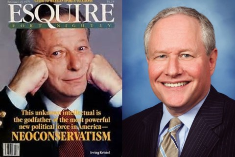 Bill and Irving Kristol