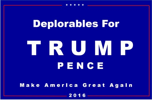 deplorables-for-trump-sign